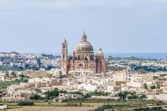 Santa Cilja Church in Gozo, Malta. Santa Cilja Church on the southeast side of the Maltese island of Gozo Stock Photo