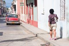 Santa Clara。 古巴 免版税图库摄影
