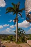Santa Clara, Куба: Взгляд от холма города Стоковые Фото