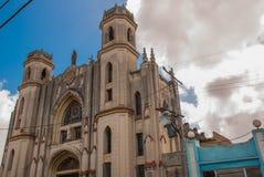 SANTA CLARA, КУБА: Собор Santa Clara de Asis Стоковое Изображение RF