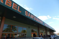 Santa Clara - Abel Santamaria - International Airport - Cuba. Main Gateway to Island of Santa Maria - Cuba Stock Images