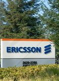 Ericsson Silicon Valley Corporate Campus royalty free stock image
