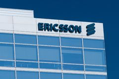 Ericsson Silicon Valley Corporate Campus royalty free stock photography