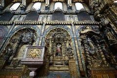 Santa Clara Church Porto, Portugal Royaltyfri Fotografi