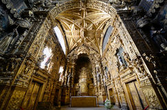 Santa Clara Church, Porto, Portugal Stock Photo