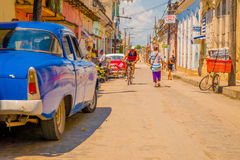 SANTA CLARA, CUBA - SEPTEMBER 08, 2015:View Stock Photography
