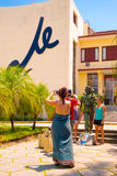 SANTA CLARA, CUBA - 5 SEPTEMBRE 2015 : Che Guevara Image stock