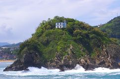 Santa clara Donostia wyspa Obraz Royalty Free