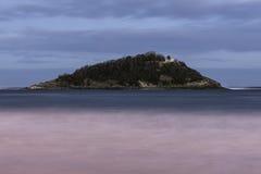 Santa Clara island at San Sebastián Stock Image