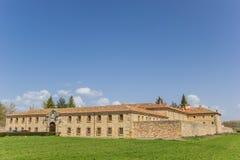 Santa Clara kloster i Aguilar de Campoo fotografering för bildbyråer
