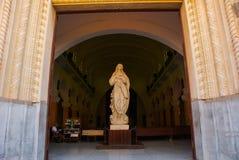 SANTA CLARA KUBA: Domkyrka av Santa Clara de Asis Royaltyfria Bilder