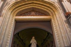 SANTA CLARA KUBA: Domkyrka av Santa Clara de Asis Royaltyfri Bild