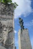SANTA CLARA KUBA, GRUDZIEŃ, - 14, 2014 Che Guevara mauzoleum Zdjęcie Stock