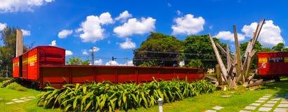 SANTA CLARA KUBA, WRZESIEŃ, - 08, 2015: Ten pociąg Obrazy Stock