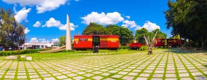 SANTA CLARA KUBA, WRZESIEŃ, - 08, 2015: Ten pociąg Zdjęcie Royalty Free