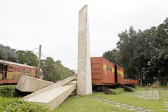 Santa Clara. A Memorial of the battle of Santa Clara and the capture of the armored train by the revolutionaries under the command of Che Guevara the 29 of Stock Image