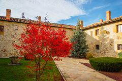 Santa Clara monaster fotografia stock
