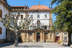 Santa Clara Monastery nova em Coimbra, Portugal foto de stock