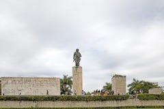 Santa Clara. Toutists are visiting the Che Guevara monument and Mausoleum, Santa Clara, Cuba Royalty Free Stock Photos