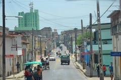 Santa Clara ulica zdjęcie stock
