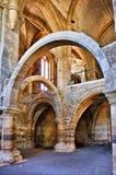 Santa Clara Velha修道院在科英布拉 免版税库存图片