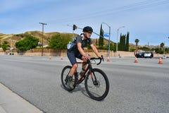 Santa Clarita, Ca De V.S. 18 Mei, 2019 AMGEN-Reis van stadium 7 van Californi? ras door Santa Clarita op de manier aan Pasadena,  royalty-vrije stock afbeeldingen