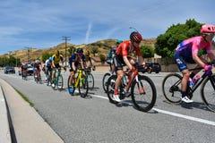 Santa Clarita, Ca U.S.A. 18 maggio 2019 Giro di AMGEN della corsa della fase 7 di California attraverso Santa Clarita sul modo a  immagine stock