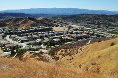 Santa Clarita Canyon Country Foothills, Royalty-vrije Stock Fotografie