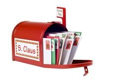 Santa Clausâ €™brevlåda Fotografering för Bildbyråer
