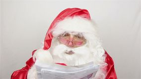 Santa Claus är readigbokstäver från ungar lager videofilmer