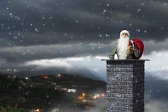 Santa Claus är redan här Blandat massmedia Blandat massmedia Royaltyfria Foton