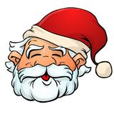 santa Claus κινούμενων σχεδίων στοκ φωτογραφία με δικαίωμα ελεύθερης χρήσης