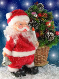 santa Claus κουδουνιών Στοκ Φωτογραφίες