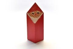 santa Claus ξύλινο Στοκ Φωτογραφίες