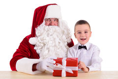 santa Claus παιδιών Στοκ εικόνα με δικαίωμα ελεύθερης χρήσης
