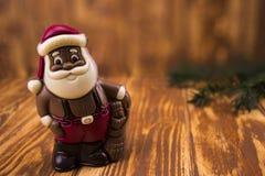santa Claus σοκολάτας Στοκ Εικόνα