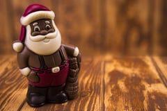 santa Claus σοκολάτας Στοκ Εικόνες