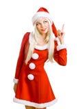 santa Claus Χριστουγέννων ομορφιά&sigm Στοκ φωτογραφία με δικαίωμα ελεύθερης χρήσης
