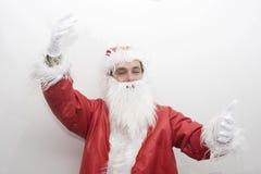 santa Claus Χριστουγέννων παραδο&sigm Στοκ εικόνα με δικαίωμα ελεύθερης χρήσης