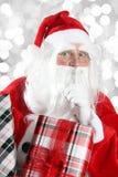 santa Claus Χριστουγέννων Στοκ εικόνες με δικαίωμα ελεύθερης χρήσης