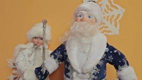santa Claus Χριστουγέννων απόθεμα βίντεο