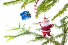 santa Claus Χριστουγέννων Στοκ Εικόνα