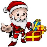 Santa Claus 02 royalty free illustration