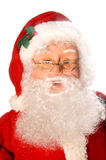 Santa claus. Face of santa claus or kris kringle christmas holidays royalty free stock photos