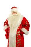 Santa Claus. Christmas Santa Claus looking . Isolated on white Royalty Free Stock Photo
