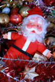 Santa Claus. With christmas toys Royalty Free Stock Images