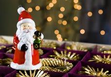 Santa Claus. Christmass Tree Decoration Royalty Free Stock Photos
