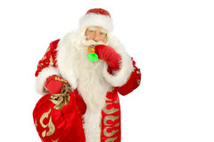 Santa Claus. Christmas Santa Claus  . Isolated on white Royalty Free Stock Photography