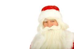 Santa Claus. Christmas Santa Claus  . Isolated on white Stock Photography