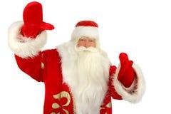 Santa Claus. Christmas Santa Claus  . Isolated on white Royalty Free Stock Photos